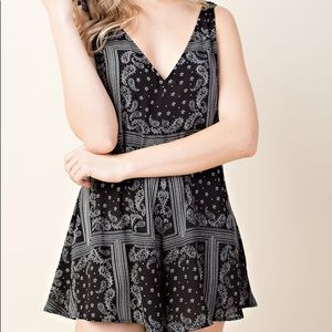 Other - Presley Paisley Romper
